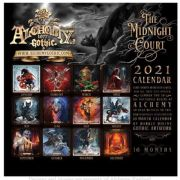 ALCHEMY GOTHIC Official The Midnight Court Calendar 2021
